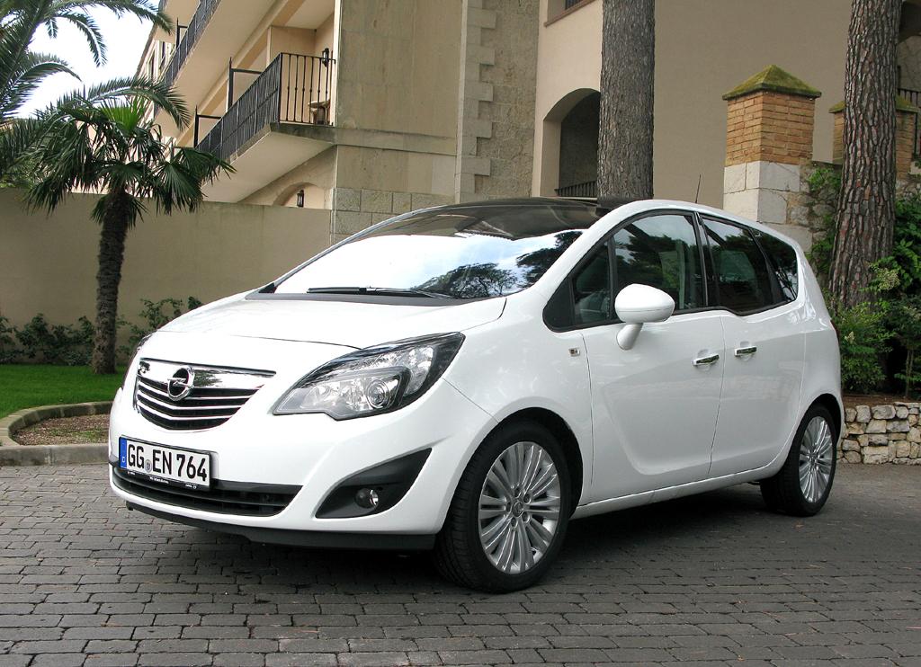 Opel Meriva: Auffällig und praktisch bei der Neuauflage des Monocab-Kleinvans ...