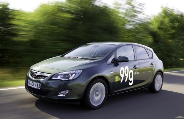 Opel senkt CO2-Ausstoß des Astra auf 99 Gramm