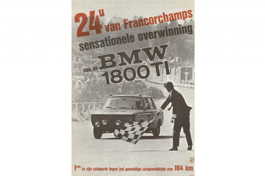 Plakatmotiv zum GP von Spa