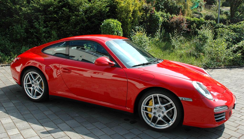 Porsche 911 Carrera 4S Coupé: Und so sieht der Elfer von der Seite aus.