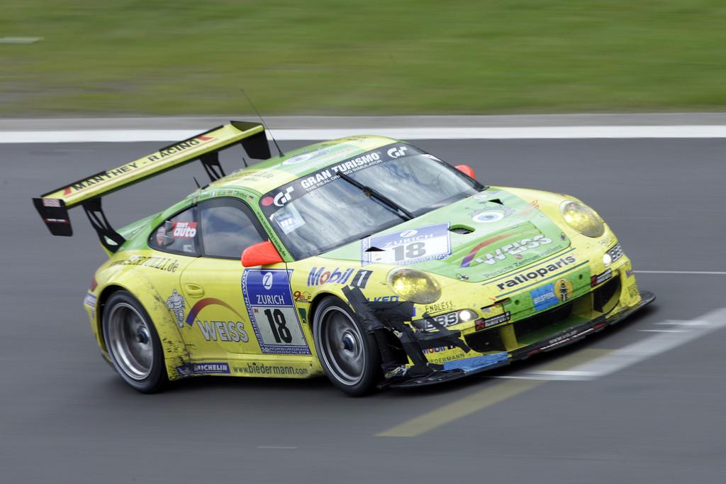 Porsche 911 GT3 RSR von Manthey Racing.