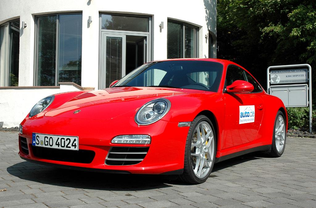 Porsche 911, hier als Carrera-4S-Coupé mit 385 PS.