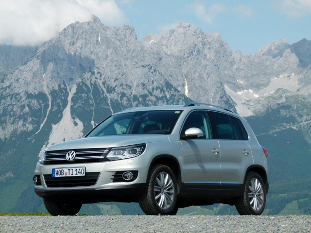 Präsentation VW Tiguan: Gipfelstürmer im Detail verbessert