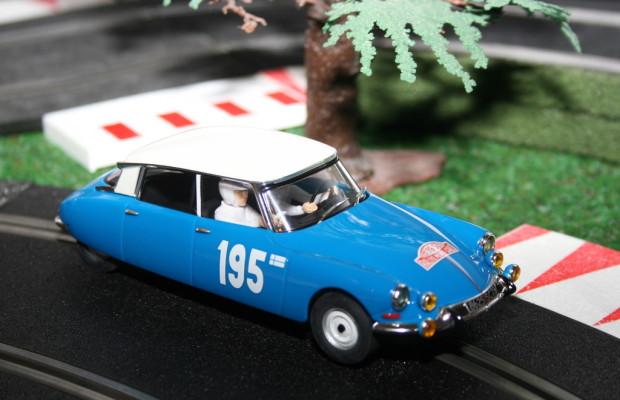 Rallye für Modellrennbahnautos in Hamburg