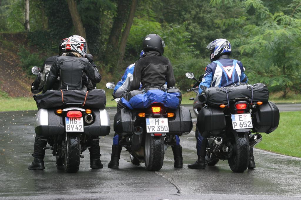 Ratgeber Motorradurlaub: Gepäck richtig und sicher verstauen