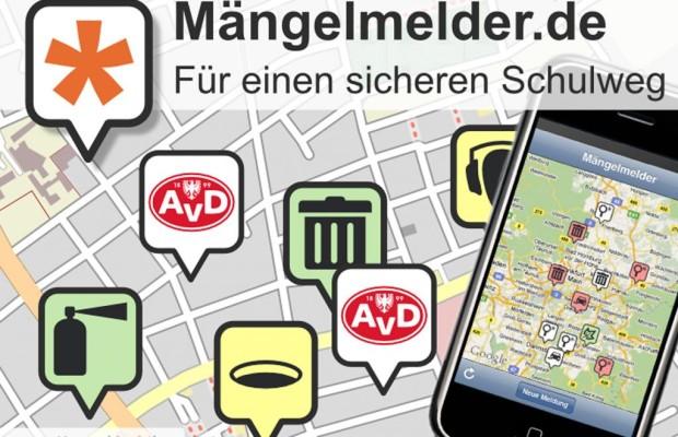 Sicherer Schulweg durch Mobilfunk-Mängelmelder