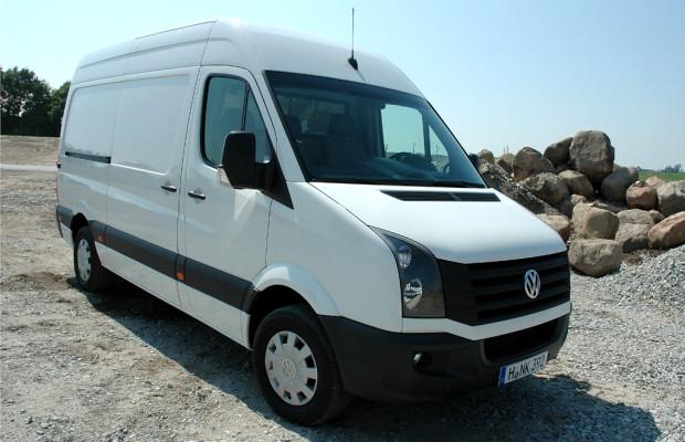 Sparsamere Motoren helfen bei VW Crafter, Verbrauchs- und Unterhaltskosten zu senken