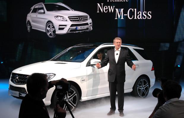 Sumo und Victoria: Mercedes kündigt für November Neuauflage der M-Klasse an