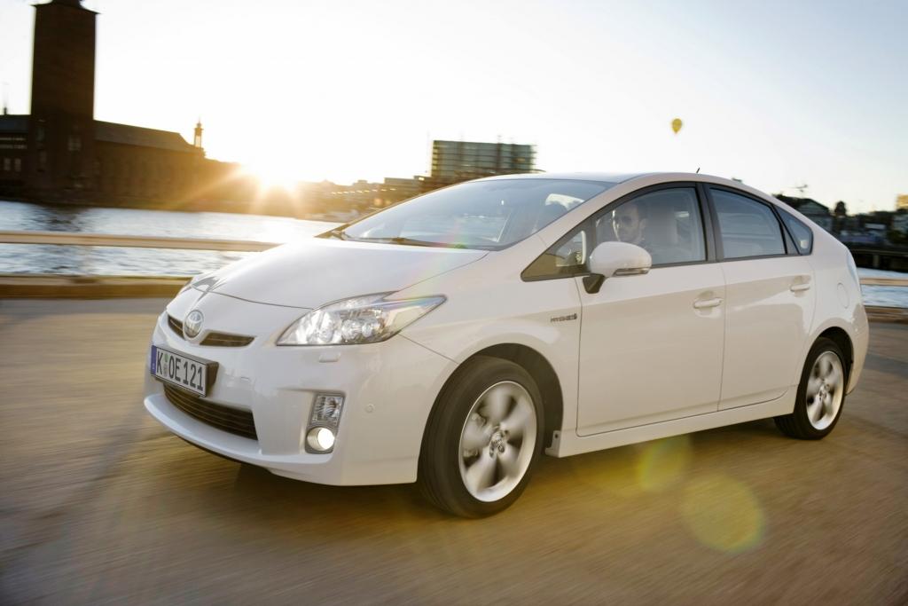 Toyota Prius bei der Nacht der Technik