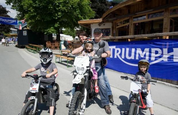 Triumph Tridays: Biker feiern wieder in Österreich
