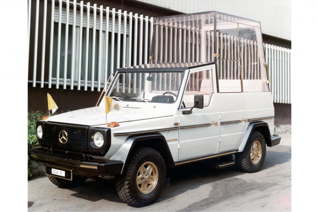 Ursprünglich diente der Mercedes G als Basis