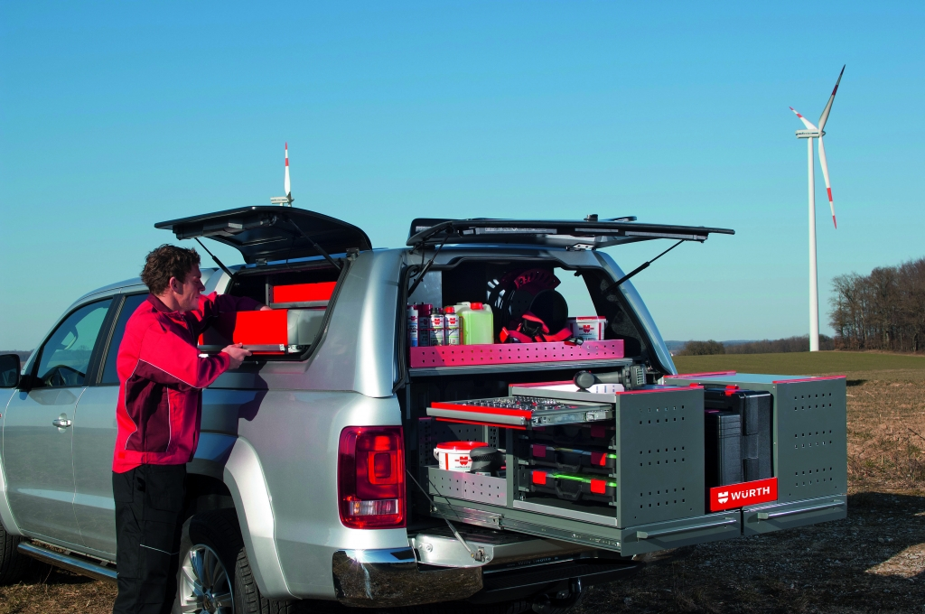 VW Amarok als Werkstattwagen: ORSYmobil entwickelt Modulsystem für Umbau