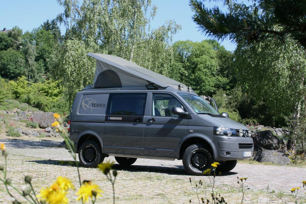 VW T5 Rockton Campingwagen - Flexibel über Stock und Stein