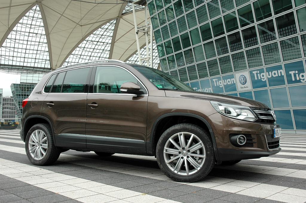 VW Tiguan: Die Neuauflage lehnt sich stärker an den Touareg an.