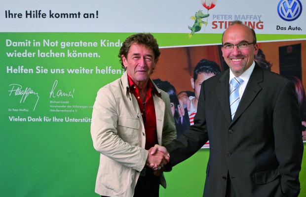 Volkswagen und Peter-Maffay-Stiftung starten Kinder-Hilfsaktion