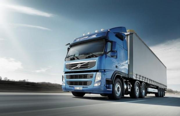 Volvo FM mischt Methan und Diesel