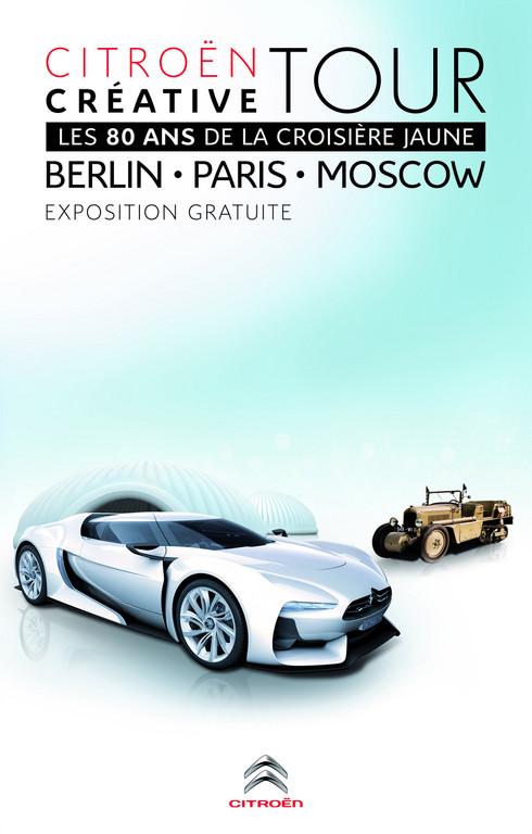 """Wanderausstellung """"Citroën Créative Tour""""."""