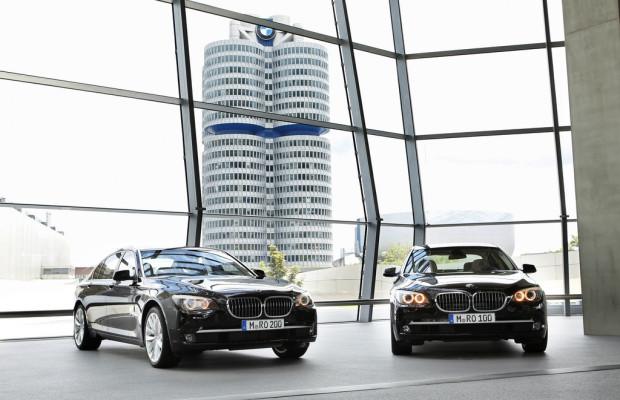 Zwei BMW Individual 7er für die Gäste des