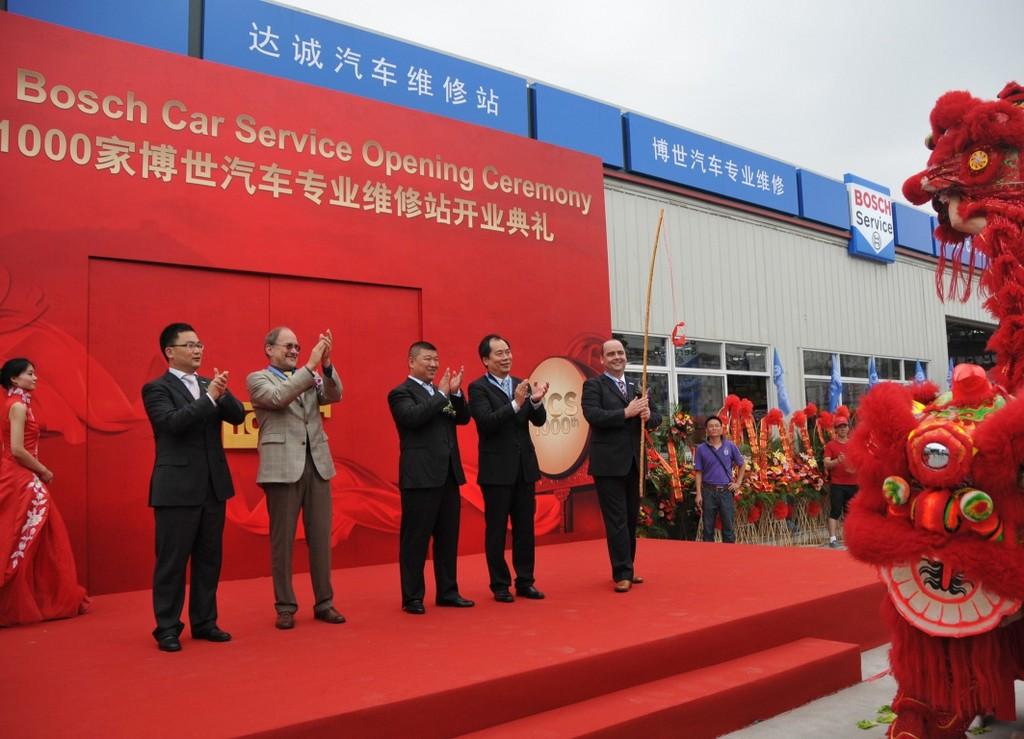 1000. Bosch Car Service in China eröffnet