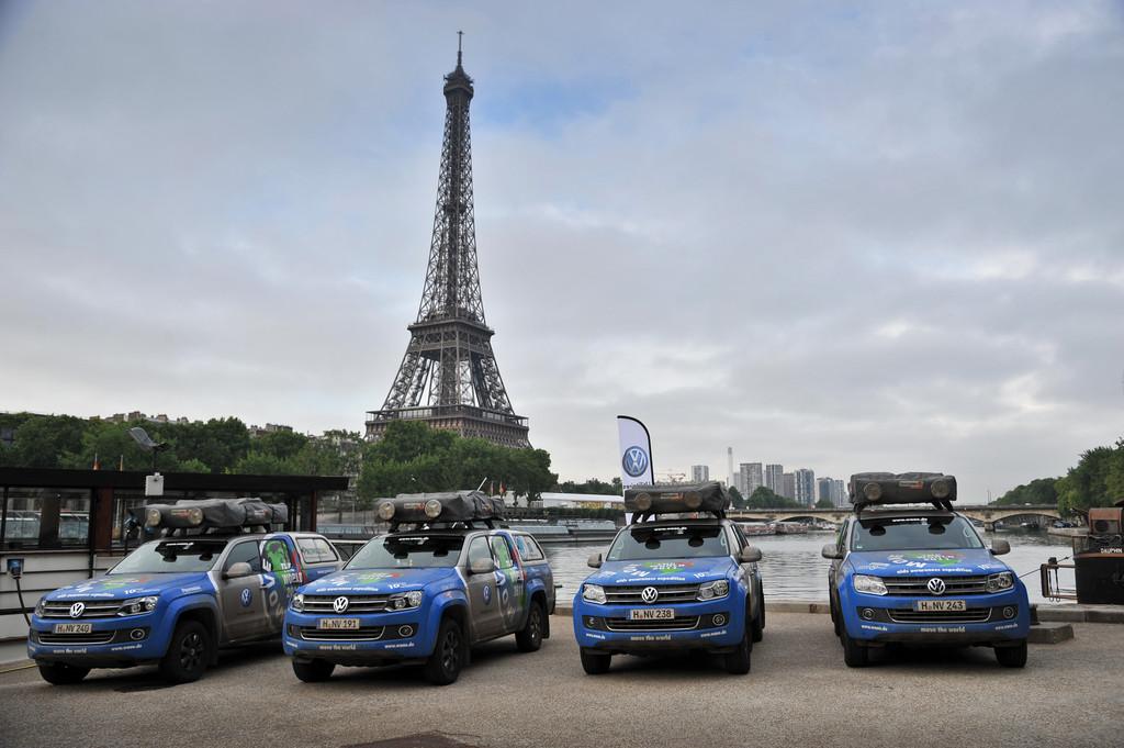 201EMove the World Tour201C führt Menschen und Maschinen an den Rand der Belastbarkeit. In Paris.