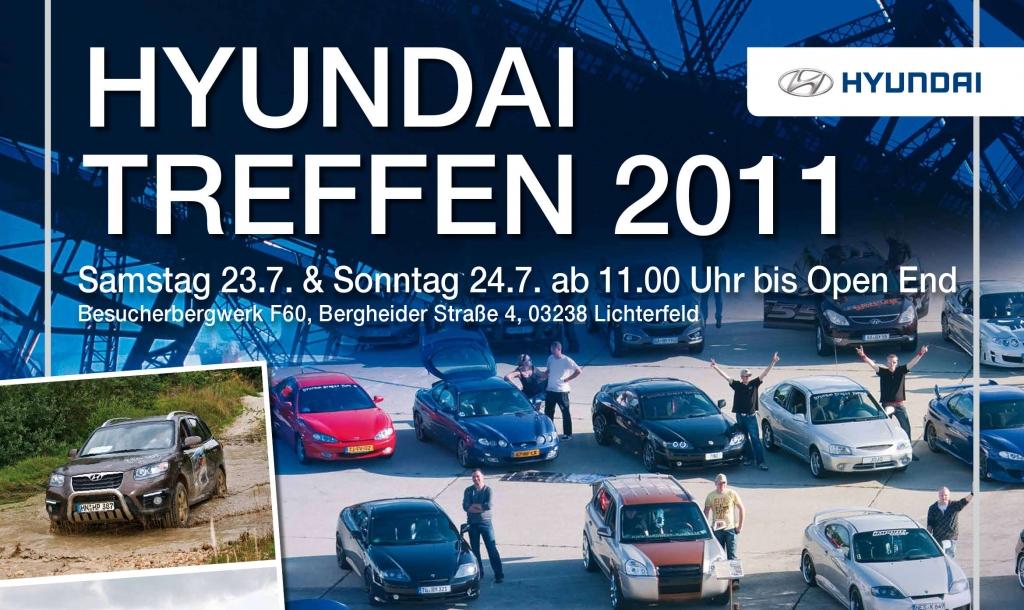 3. Hyundai Clubtreffen 2011 – Tuning-Fans treffen sich in der Lausitz
