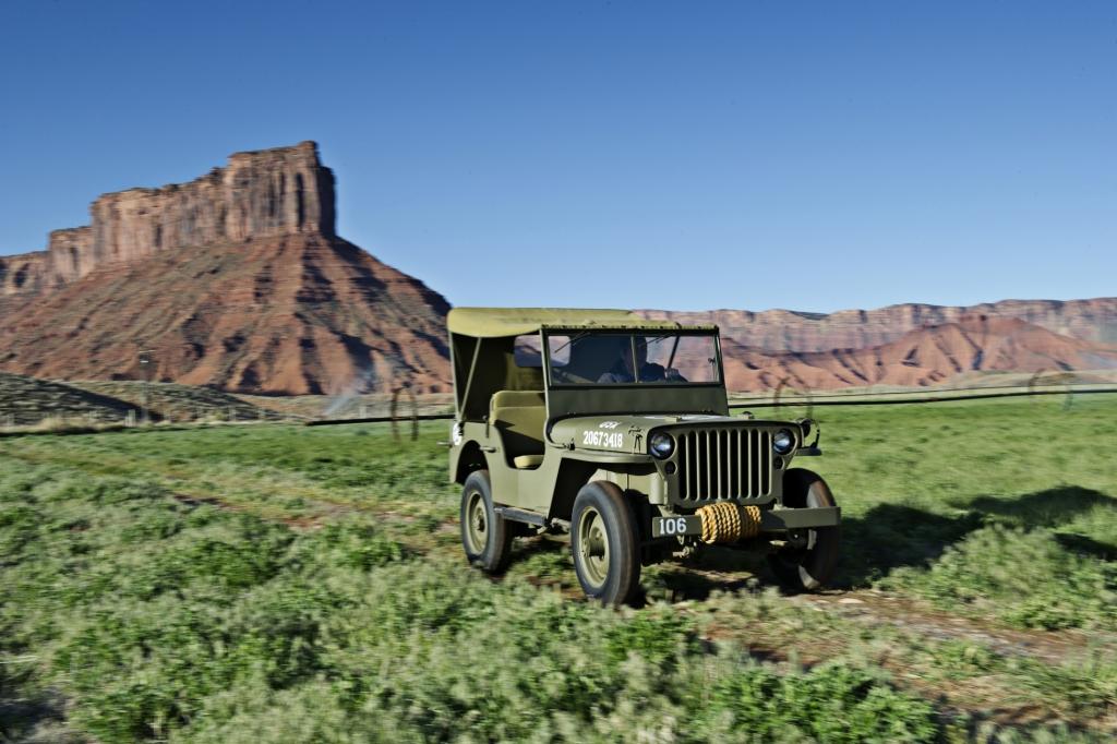 70 Jahre Jeep: Der geländegängige US-Soldat