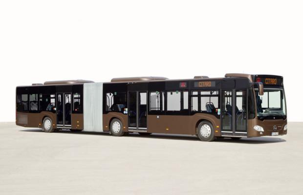 87 Mercedes-Benz Citaro Gelenkbusse für Genf