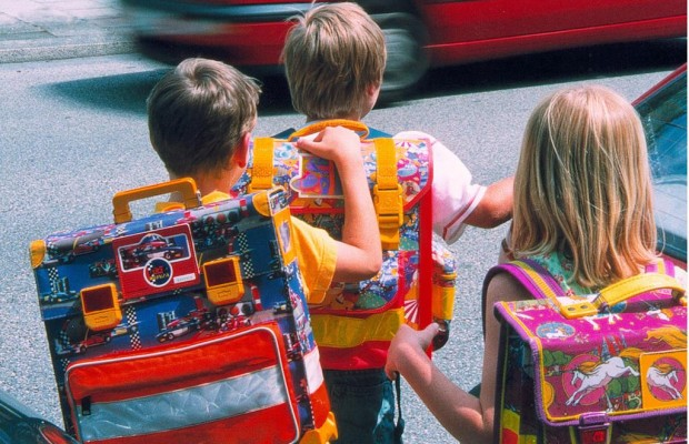 ABC-Schützen - Der Schulweg will geübt sein