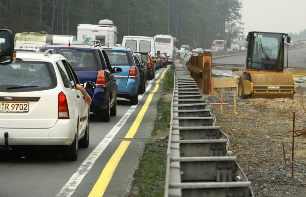ADAC informiert über Baustellen in Deutschland
