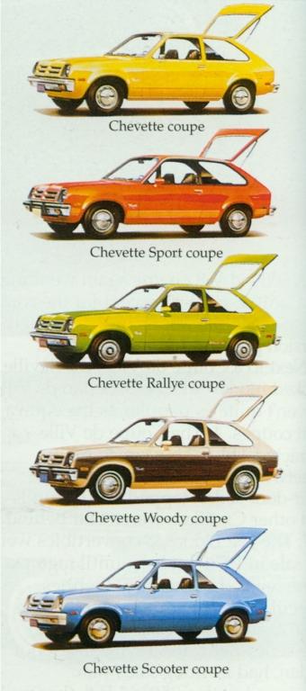 Anzeige für den Chevette.
