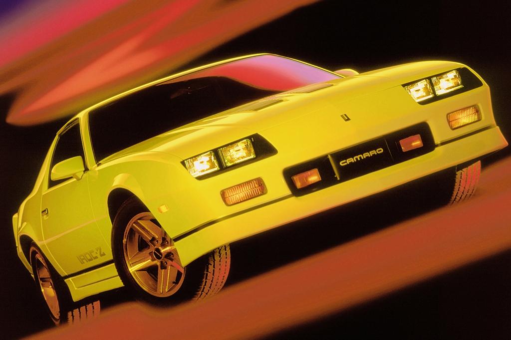 Auch beim 1983er Camaro gab es ein Schrägheck.