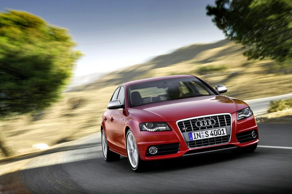 Auch im Audi S4 tut ein Kompressormotor Dienst