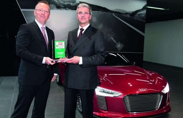 Audi-Chef Stadler erhält e-Car Award