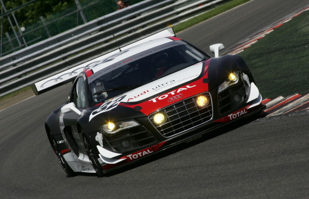 Audi R8 LMS startet in Spa