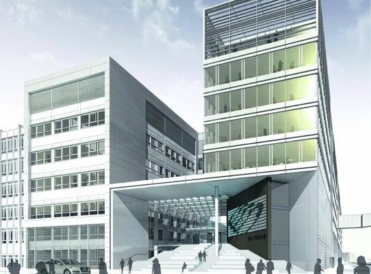Audi feiert Richtfest für SE-Forum und Rechenzentrum