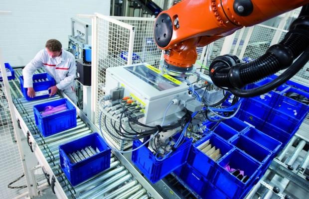 Audi nimmt neues Logistikzentrum in Neckarsulm in Betrieb