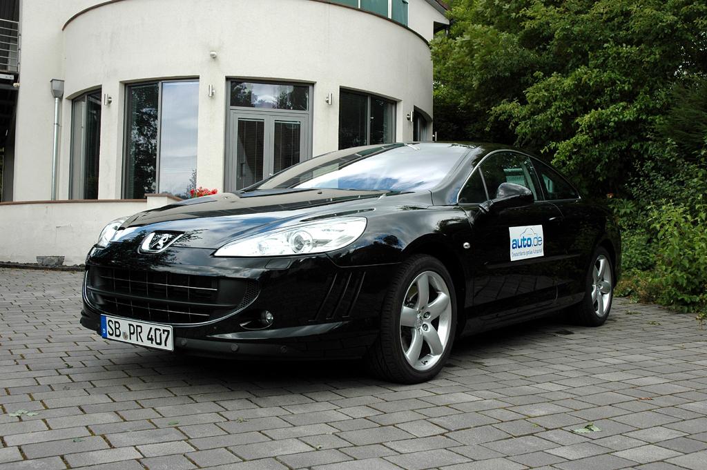 Auto im Alltag: Peugeot 407 Coupé