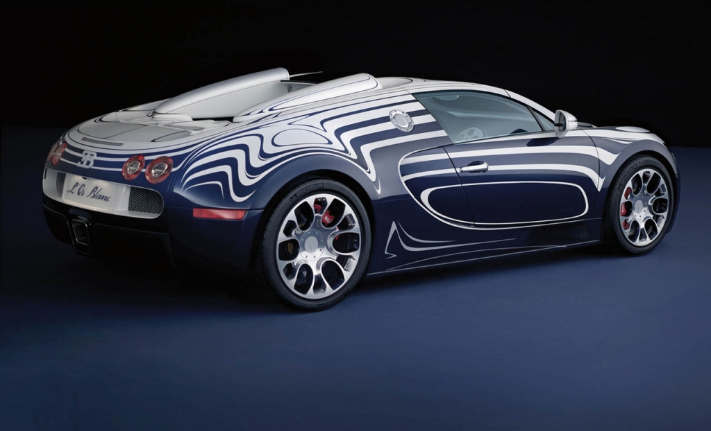 Auto meets Porzellan: Der Bugatti L`Or Blanc