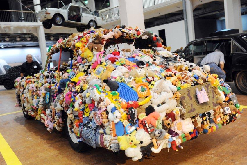 Autos und Kunst Quelle: dpa