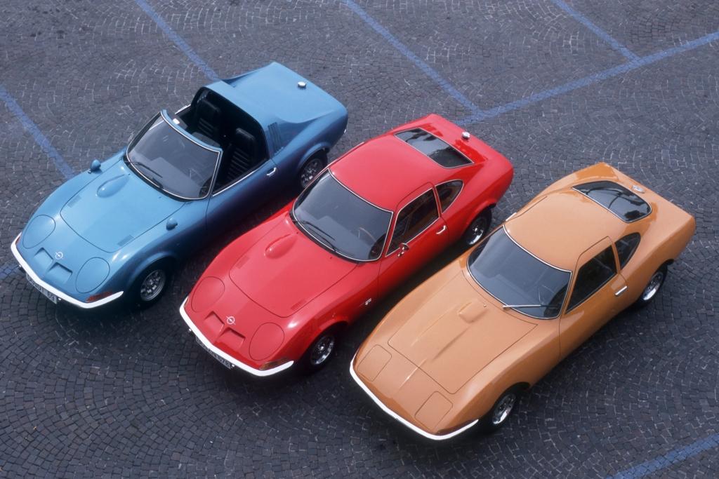 Baby-Corvette wird der Opel GT genannt.