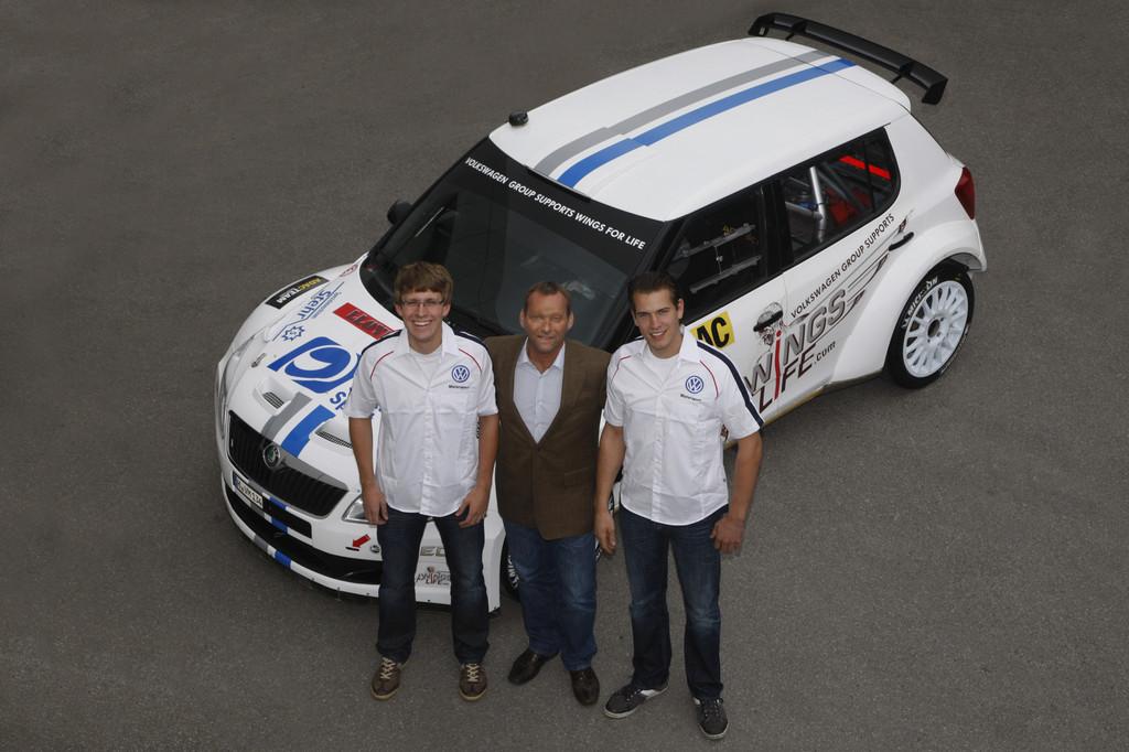Christian Riedemann, Kris Nissen, Hans Weijs junior.