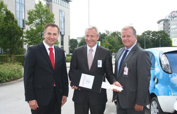 Citroën C-Zero für Multi-Technologieunternehmen 3M