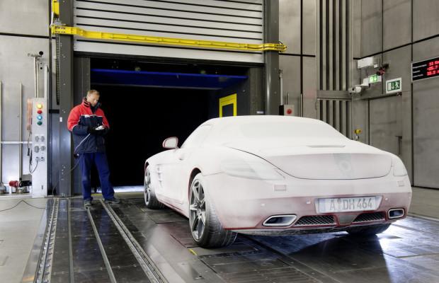Daimler eröffnet neuen Windkanal am Standort Sindelfingen