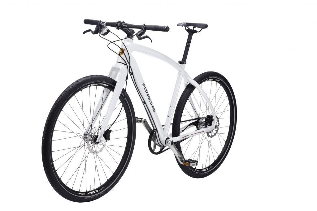 Das Bike S hat einen Aluminium-Rahmen