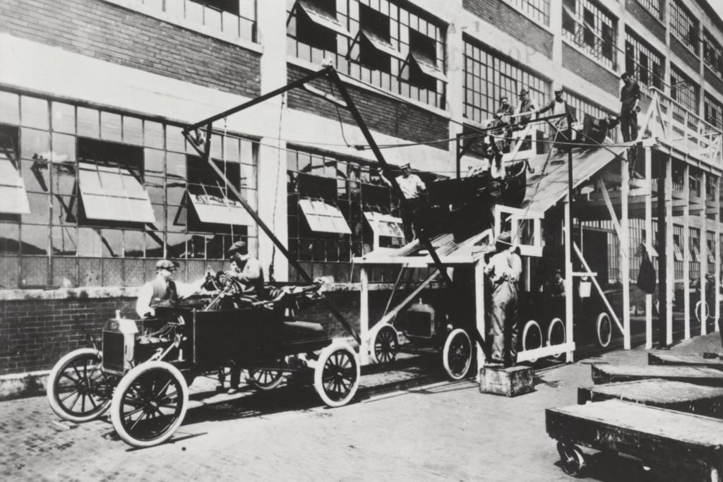 Das Ford T-Modell wurde schnell als ''Tin Lizzy'' bekannt.