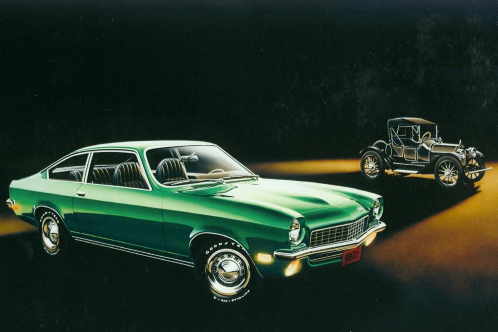 Das Vega Coupé von 1972.