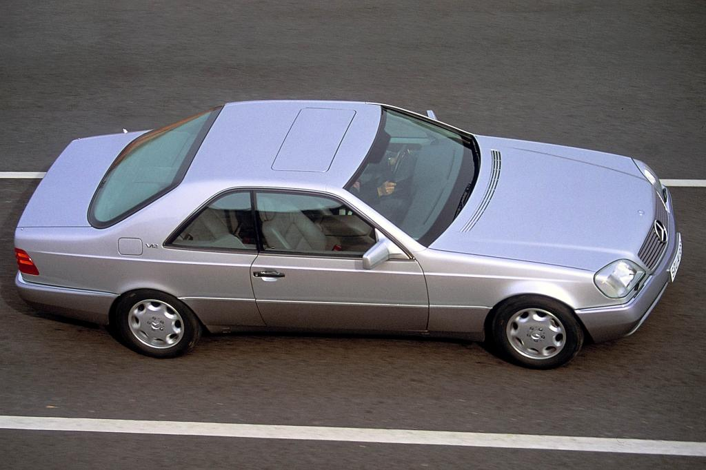 Das Zwölfzylindercoupé 600 SEC war purer Luxus