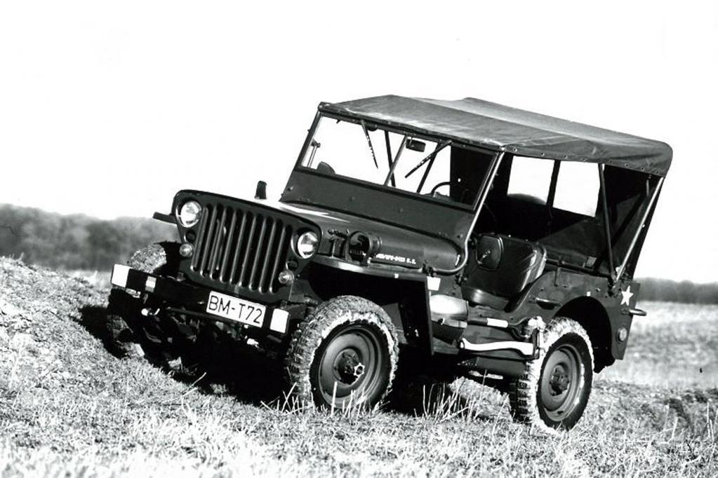 Das in Massen produzierte Nachfolgemodell Jeep