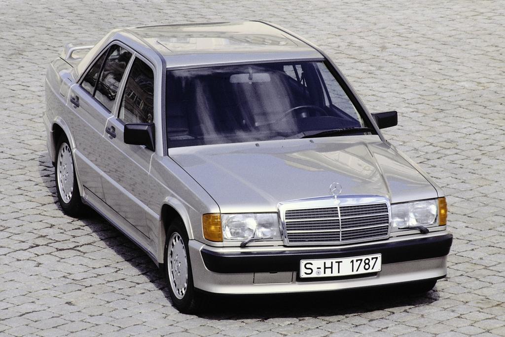 Der 190er hört auf den Namen Baby-Benz - Mercedes.