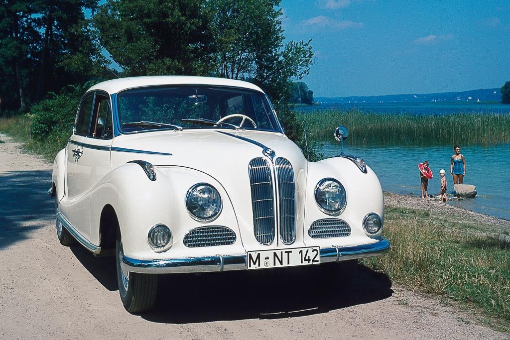Der 501 ist auch als Barockengel bekannt - BMW.